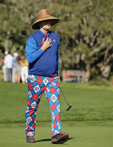 beach themed clothing line bill murray golfed and fed a man a muffin wearing cubs