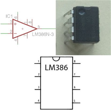 integrated circuit lm386 scale breadboard basics 2 from schematic to