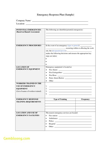incident response plan template incident response plan template best templates