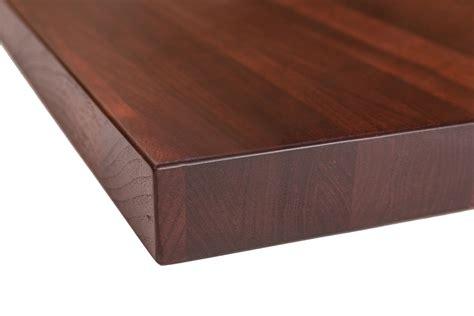 wood butcher block table walnut butcher block chocolate