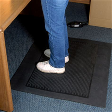 Mats For Standing All Day heated anti fatigue mats provide comfort for workers