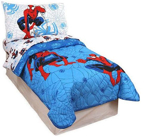 spiderman toddler bed set spiderman 4 piece toddler bedding set spider man