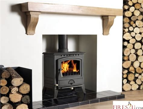 Surrounds For Stoves Cast Tec Alberg 7 Mutlifuel Stove Stoves Fires2u