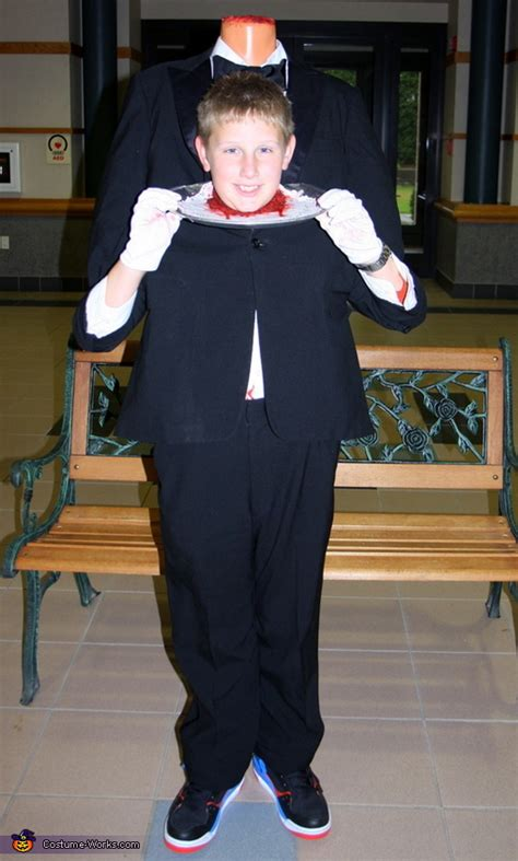 headless butler halloween costume easy diy costumes