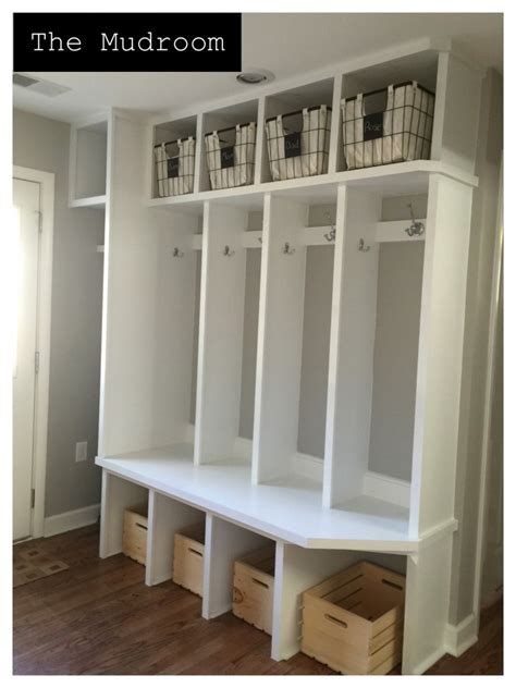 Cheap Bedroom Makeover by Mudroom Storage Units Kbdphoto