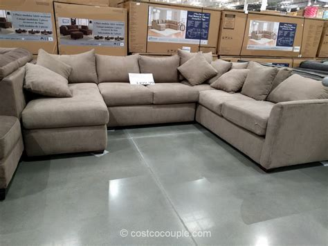 sofa ultra modern gray sectional costco sofas living