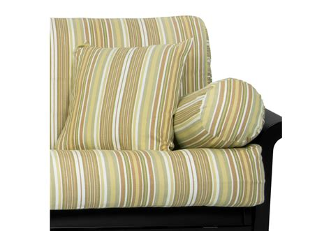 stripe futon cover monica stripe futon cover