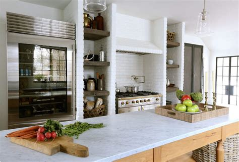 summer kitchen design summer kitchen design with built in space for shelves home decorating trends homedit