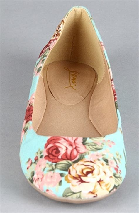 flat floral shoes floral flats accesoriess