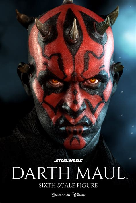 collecting toyz darth maul duel on naboo sixth scale figure