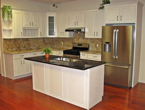 Kz Kitchen Cabinet by Ivory Maple Cabinets With Persa Golden And Black Galaxy By