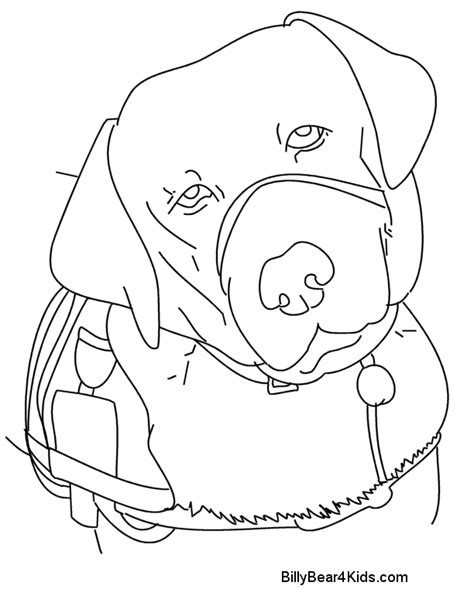coloring pages of service dogs service dog coloring sheets coloring pages