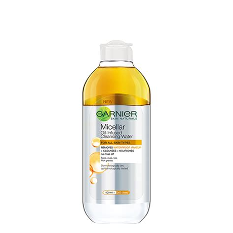 Tetra Cleanse Detox by Garnier Skin Naturals Micellar Infused Cleansing Water
