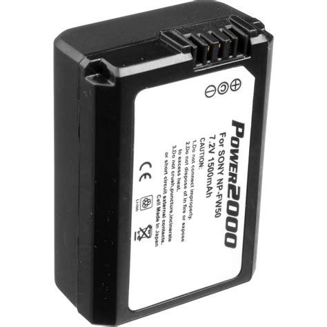 Batt Sony Np Fw50 power2000 repl batt f sony np fw50 nex3 5 acd 772 b h photo