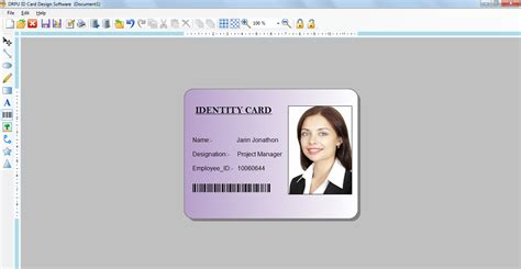id card template publisher id card designer 7 3 0 1 free