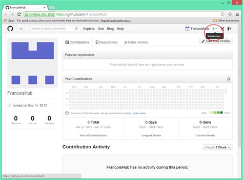 github tutorial create repository visual studio github integration tutorialfrancois malgreve