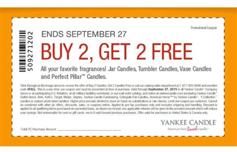 printable coupons for yankee candle 2015 yankee candle coupon b2g2 free candles living rich with