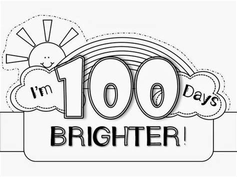 100th day of school crown template 100th day hat freebie school ideas