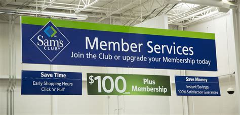 Sam S Club Business Card