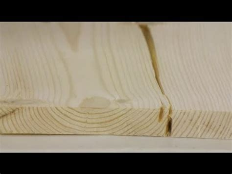repair split wood boards woodworking tips youtube