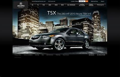 motor website 101 spectacular cars website designs monsterpost