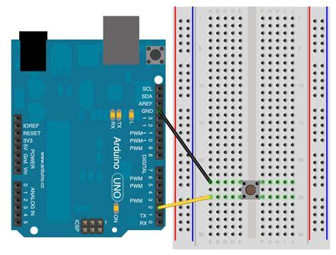 arduino pull up resistor button arduino inputpullupserial