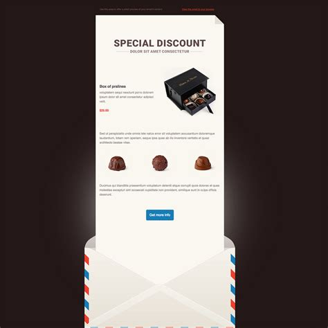 free responsive email newsletter templates smooth chocolate free responsive email newsletter template