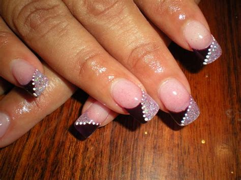 easy nail art french manicure colorful french nail art designs 2011