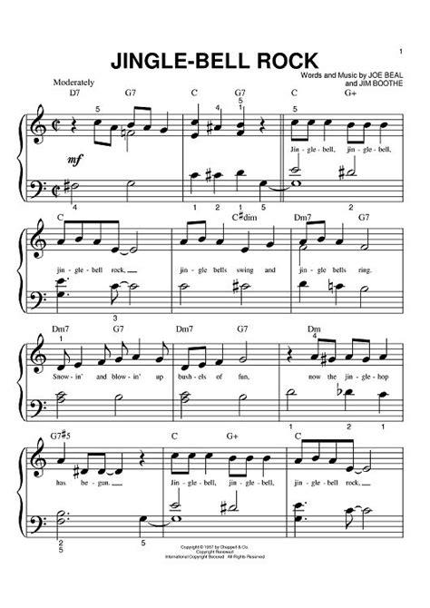 free printable jingle bell rock lyrics jingle bell rock sheet music by aaron tippin xmas