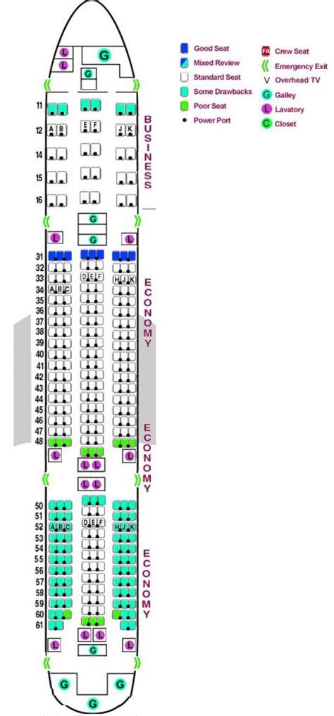 boeing 777 200 300 seat map car interior design