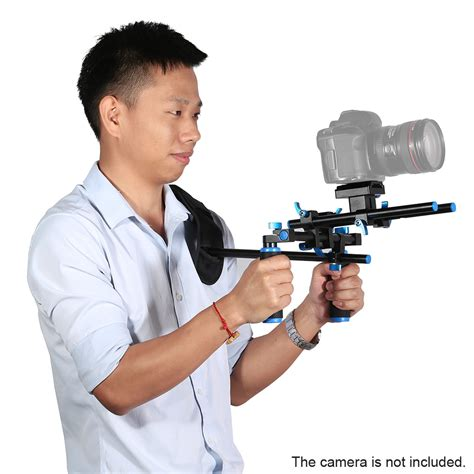 Stabilizer Kamera Shoulder Support Rig Handgrip Omcsdybk stabilizer kamera shoulder support rig handgrip black jakartanotebook
