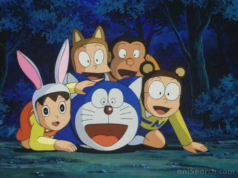 film doraemon planet terbalik doraemon nobita to animal planet anime 1990 movie