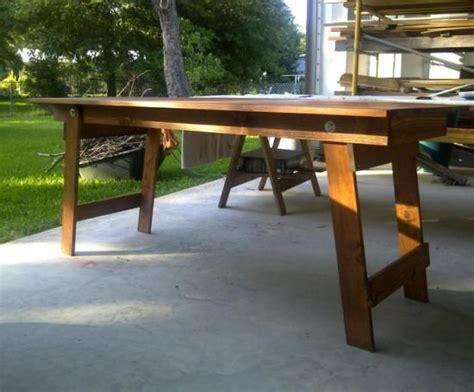diy folding table legs pin by deloach on seth