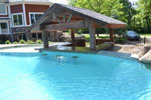 Backyard Pool Bar Swimming Pool Amazing Pool With Bar For Cozier Entertainment Features Luxury Busla Home