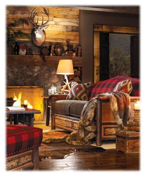 Highland Themed Living Room by The 25 Best Woodland Living Room Ideas On