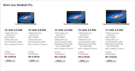 Macbook Pro Malaysia macbook pro 2013 price in malaysia news