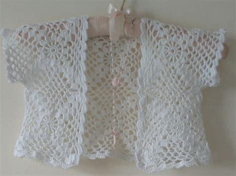 communion crochet bolero