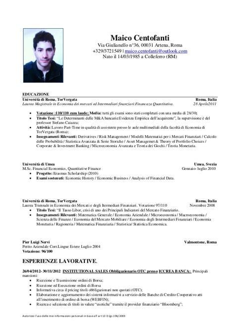 Curriculum Vitae Sles Customer Service Esempio Curriculum Vitae Customer Service Amr
