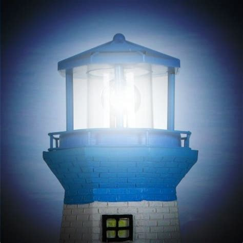 Solar Revolving Lighthouse Lighthouse Solar Light