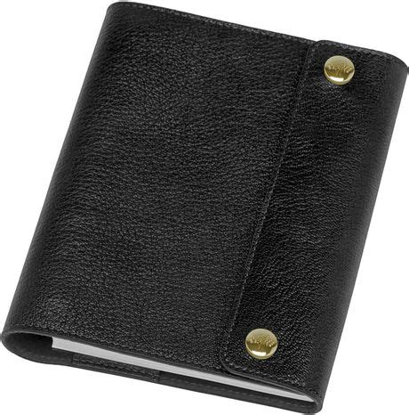 A6 Notebook Meraki Notebook Polos mulberry a6 notebook cover in black for lyst