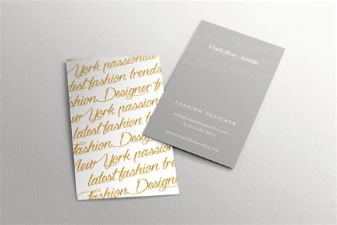 elegant business card template inspiration cardfaves
