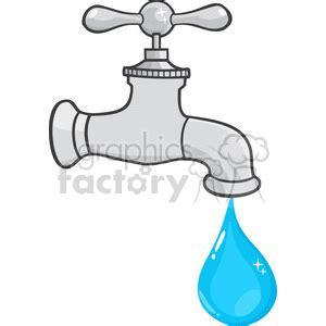 Kran Air Ina royalty free 12878 rf clipart illustration water faucet