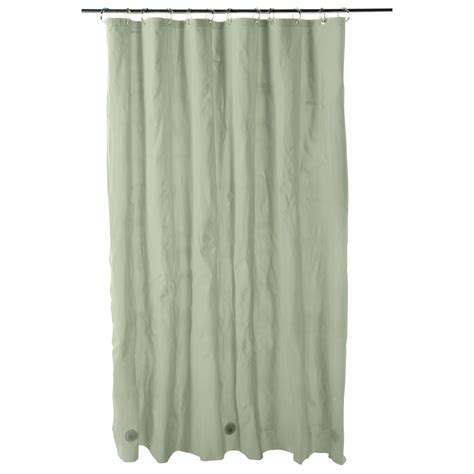 sears shower curtain essential home shower curtain liner 5 gauge vinyl peva