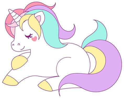 Unicorn Pastel pastel unicorn clipart clipartxtras