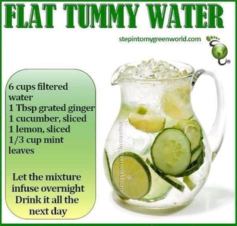 Overnight Detox by Diy Flat Tummy Water Trusper