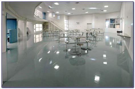 100 Solids Epoxy Floor Coating Kit   Flooring : Home