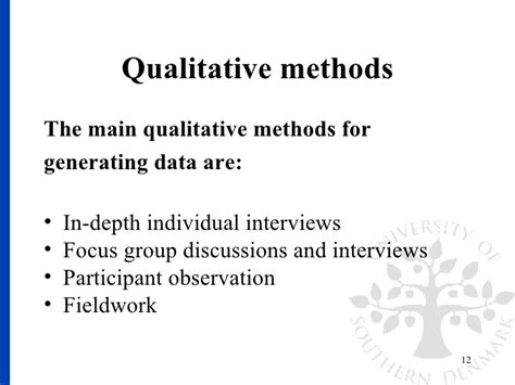 generating themes qualitative research qualitative research methods