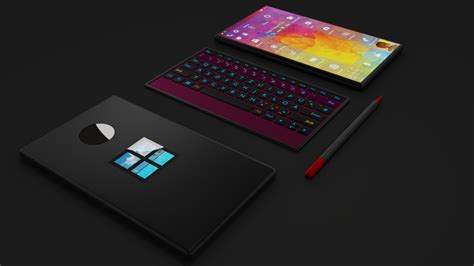 microsoft surface mobile phone microsoft surface phone 2 has modular design can be