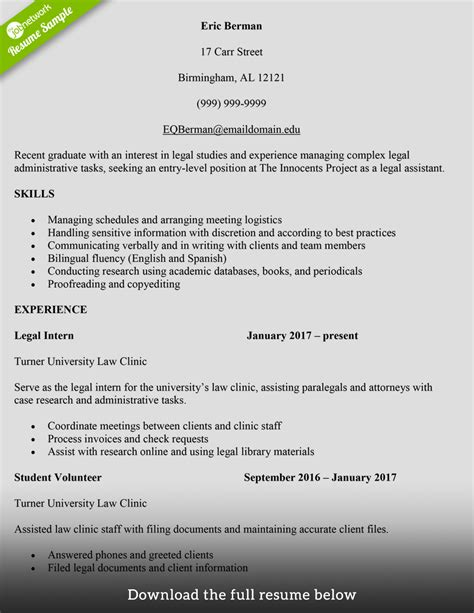 attorney resume sles entry level how to write a resume with exles