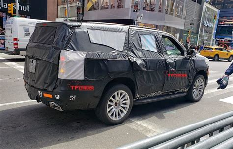 Next Generation 2020 Cadillac Escalade by Is This A 2020 Cadillac Escalade Prototype In Middle Of